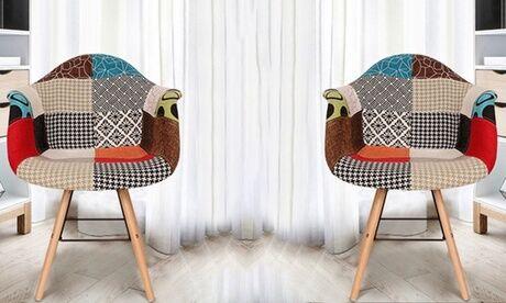 "Groupon Goods Global GmbH 1, 2 ou 4 fauteuils ""Vacuit"" de style scandinaves"