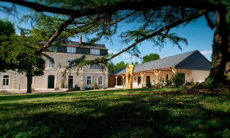 Le Haut des Lys the Originals Relais La Loire : chambre Confort ou Privilège avec pdj, vin et option modelage pour 2 à l'hôtel The Originals Le Haut des Lys