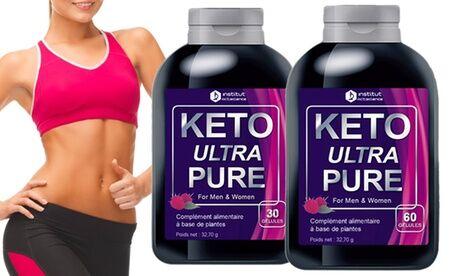Groupon Goods Global GmbH 30, 60, 120, 240, 360, 720 capsules Keto Ultra Pure le contrôle du poids