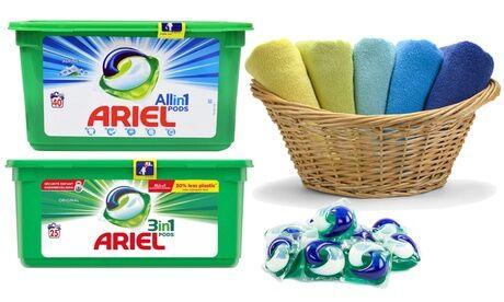 Groupon Goods Global GmbH Lessive Ariel Pods Regular ou Alpine