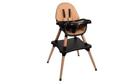 Groupon Goods Global GmbH Chaise haute EVA 2 en 1 évolutive en table et chaise enfant