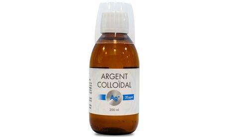 Groupon Goods Global GmbH 1, 2 ou 3 flacons d'argent colloïdal Nutri Expert de 200 ml