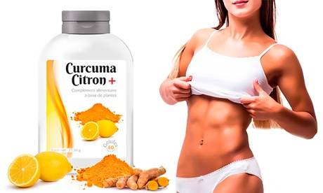 Groupon Goods Global GmbH Jusqu'à 1 an de cure detox Curcuma Citron