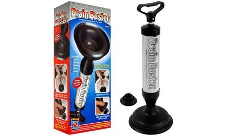 Groupon Goods Global GmbH Déboucheur à air comprimé écologique Drain Buster pour canalisations (éviers, toilettes...) à haute pression