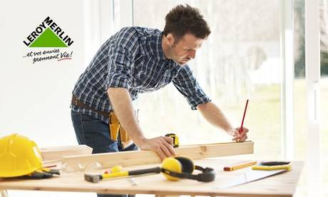 Leroy Merlin - Biganos 1 ou 2 cours d'environ 3h d'ateliers de la maison au choix pour 1 personne chez Leroy Merlin - Biganos