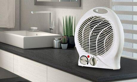 Groupon Goods Global GmbH Chauffage soufflant de 2000 watts avec thermostat et puissance