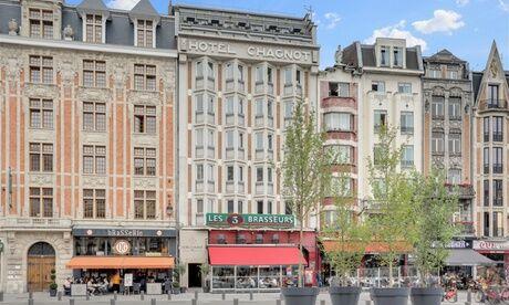 Hôtel Chagnot Lille : chambre Double avec petit-déjeuner pour 2 personnes à l'Hôtel Chagnot