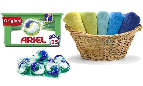 Groupon Goods Global GmbH 25 à 150 doses de lessive Ariel Pods Regular