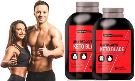 """Groupon Goods Global GmbH Compléments alimentaires """"Max reducer Keto Blade"""", 30, 60, 120, 240, 360 ou 720 gélules"""