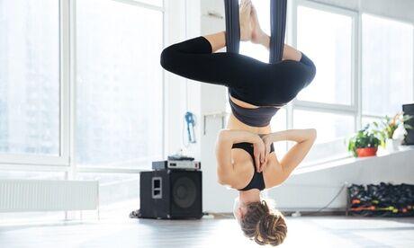 Centre des Arts Sensoriels Corporels 1 ou 3 séances de hamac yoga fusion et/ou stretch, pour 1 personne, au Centre des Arts Sensoriels Corporels
