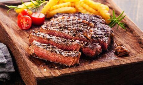 TALOTEGI Côte de bœuf à la plancha (1kg) avec frites au couteau pour 2 personnes, au restaurant Talotegi