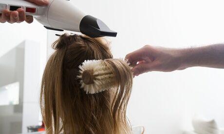 Maison Glory Shampoing, soin et brushing avec option coupe ou lissage brésilien pour cheveux courts pour femmes au salon Maison Glory