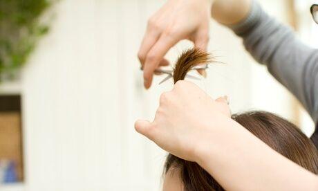 Beauté De La Plaine Coiffure Shampoing, coupe, brushing option couleur et/ou mèches pour cheveux mi-longs au salon Beauté De La Plaine Coiffure