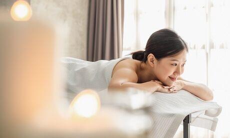 Channe Massage Modelage du corps relaxant ou séance de réflexologie plantaire d'1h pour 1 personne avec