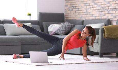 Samy cours de fitness en live Abonnement à des cours collectifs en direct  d'1 mois au choix avec Samy Coaching