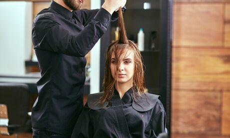 Maison Glory Shampoing, soin et brushing avec option coupe au salon Maison Glory