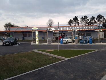 Shiny Wash Lavage auto en tunnel avec aspirateur, lave-tapis et gonfleur illimité, programme Ultimate Wash,