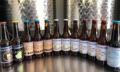 Brasserie La Cagnoise Pack découverte de 12 bières artisanales en livraison ou à récupérer à la Brasserie La Cagnoise