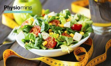 Physiomins Tours 1 ou 2 consultations diététiques avec 1, 2 ou 3 soins minceurs au choix de 30 à 40min chez Physiomins - Tours