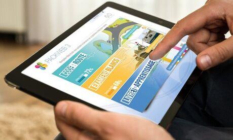 Ecfr Egly Auto Ecole Cours de code illimité en ligne pendant 1, 3, 6 ou 12 mois avec l'Autoécole ECFR Egly