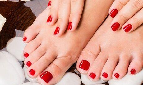 Marion Lexcellent 1 ou 2 séances de beauté des mains/des pieds express et pose de vernis semi-permanent chez Marion Lexcellent