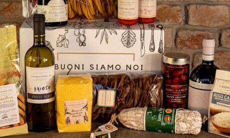 I buoni Siamo noi Box composée de produits italiens au choix sur le site I Buoni Siamo Noi (jusqu'à 50% de réduction)