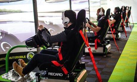 """K1 Speed Lyon 1 session de simulateur """"Formule GT"""" de 30 min pour 1 ou 2 personnes avec K1 Speed Lyon"""