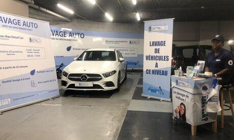 DETAILCAR Toulouse Purification de l'air du véhicule avec lavage ext. et int. ou pressing des sièges en option au centre DetailCar Toulouse