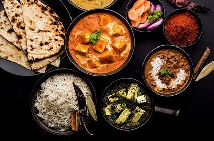Indian Street Food Plat indien avec riz et boisson pour 1 ou 2 personnes au restaurant Indian Street Food