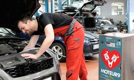Mac Automobile Rajeunissement et décalaminage du moteur jusqu'à 2 litres chez Mac Automobile