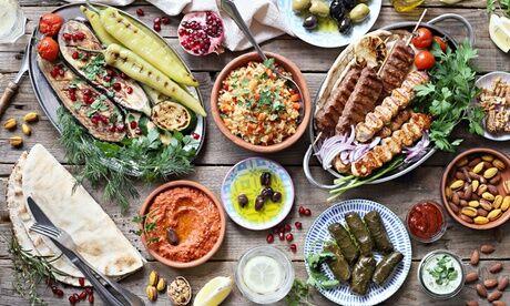 Ya Habibi Formule libanaise au choix à emporter pour 1 ou 2 personnes avec le restaurant Ya Habibi