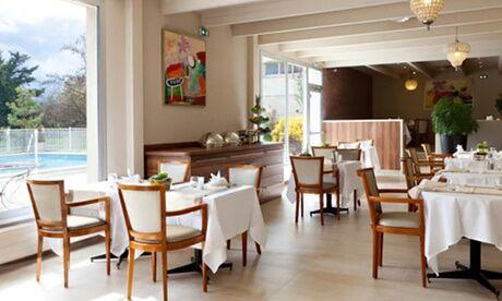 Restaurant Golden Tulip Mulhouse Basel (les 5 éléments) Menu en 2 ou 3 services pour 2 convives, à midi ou le soir au Restaurant Golden Tulip Mulhouse Basel