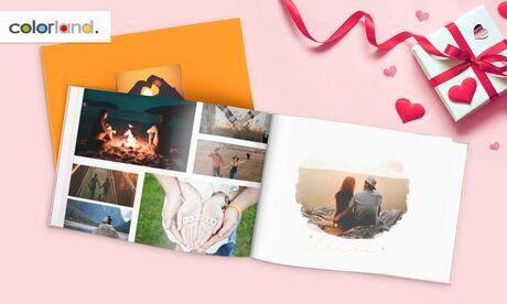 Colorland 1, 2 ou 3 livres photo premium avec 100, 120, 140 ou 160 pages sur le site Colorland