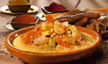 Le Jasmin Couscous tunisien au choix pour 2 personnes, à emporter au restaurant Le Jasmin