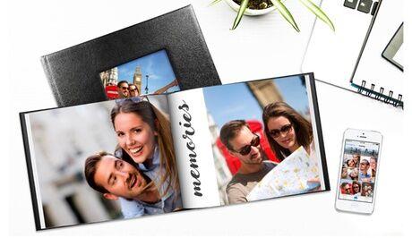 Printerpix 1 ou 2 livres photo Lorenzo, format et nombre de pages au choix, sur le site Printerpix