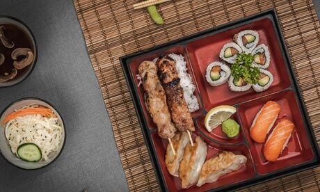 Mineko Menu Bento pour 2 ou 4 personnesavec le restaurant Mineko