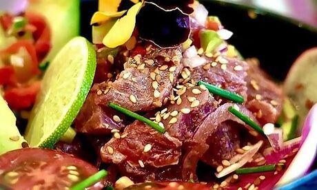 Krioya Chifa wok et dessert pour 1 ou 2 personnes, à emporter, avec le restaurant Krioya