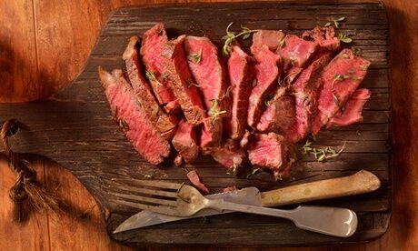 L'aveyronnais Côte de bœuf à partager à 2, race Aubrac, 1,5kg mini. avec option maturation 60 jours mini. au restaurant L'aveyronnais