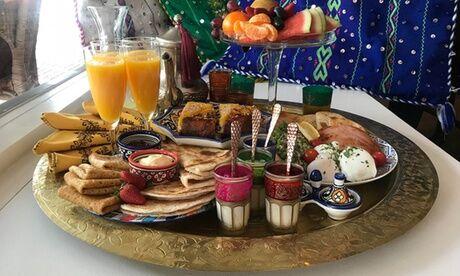 Le Comptoir De La Braise Petit-déjeuner marocain complet pour 2 personnes au restaurant Le Comptoir De La Braise