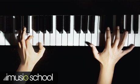 imusic-school 1, 3, 6 ou 12 mois de cours de Piano en ligne avec imusic-school