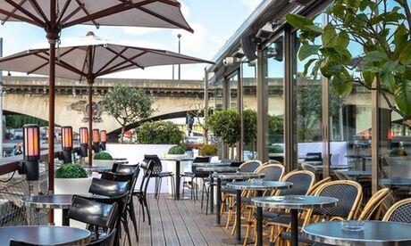 Le Bistro Parisien Déjeuner ou dîner pour 1 ou 2 adultes et/ou 1 ou 2 enfants avec ou sans balade avec Le Bistro Parisien