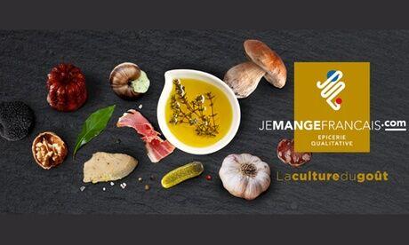Je Mange Francais Bon d'achat de 25, 40 ou 60 € au choix valable sur le site jemangefrancais.com (jusqu'à 0% de réduction)