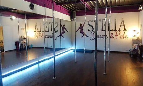 STELIA DANCE & POLE 1, 2 ou 3 cours dePole Heels cabaret pour 1 personne au centre Stelia Dance & Pole