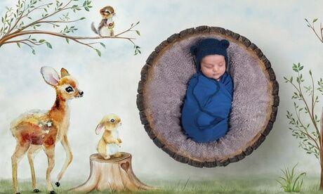 Studio Delphine B Photographe Séance photo portrait Fine Art pour bébé 0-2 mois ou enfant 1-8 ans avec 1 photo avec le Studio Delphine B Photographe
