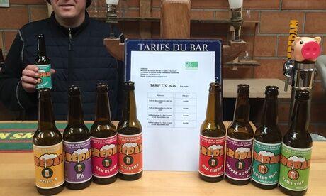 GreDam Brasserie Coffret dégustation de 6 bières ( 33 cl) à composer parmi les différentes bières artisanales bio de la brasserie GreDam