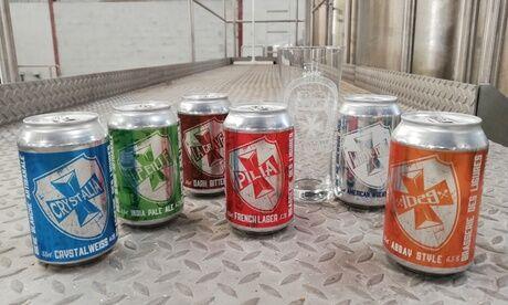 BRASSERIE DES LIGURES Coffret découverte de 6 ou 24 bières artisanales avec ou sans verre, à emporter/en livraison, à la Brasserie des Ligures