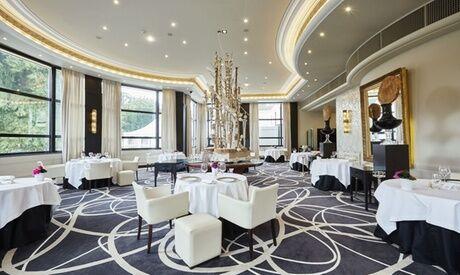 La Rotonde - Restaurant Menu étoilé au choix en 3 ou 4 services au choix  du chef  pour 2 personnes au Restaurant La Rotonde - Le Lyon Vert