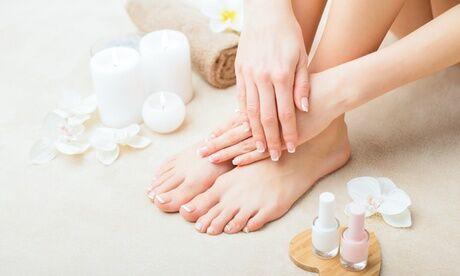 """Estelle Vous Rend Belle Beauté des mains ou des pieds """"Express"""" ou beauté des pieds complète et pose de semi-permanent à Estelle Vous Rend Bell"""