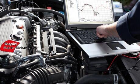 Rapid Pare-Brise / Vitré Lavage Express Décalaminage du moteur sans additif chimique de 60, 90 ou 120 min chez Rapid Pare-Brise / Vitré