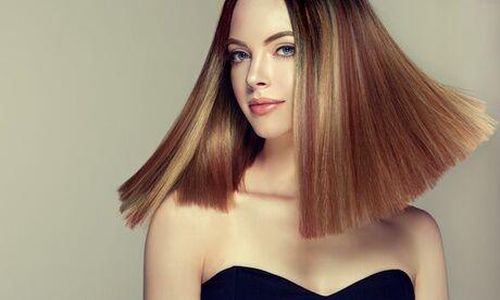 Salon CD Coiffure Shampoing, coupe, brushing et soin, mèches ou couleur en option jusque cheveux long au Salon CD Coiffure